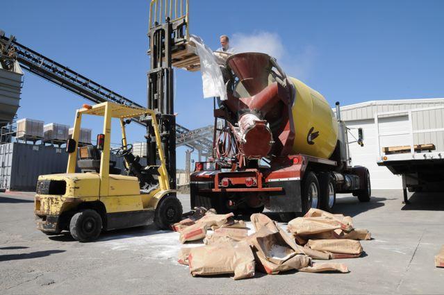 oobleck cement truck
