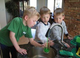 Leprechaun Green Water