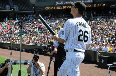 Jeff Francis Home Run