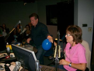 The balloon feels heavy