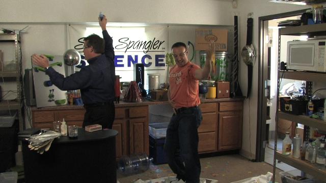 Steve's not a dancer