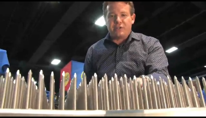 Bed of Nails, The Ellen Show, Steve Spangler, science experiment