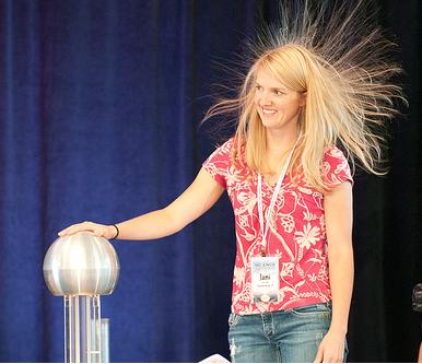 Tesla Vandegraff Electricity Science in the Rockies Steve Spangler Science