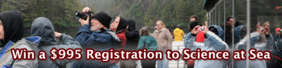 Science at Sea Registration Contest