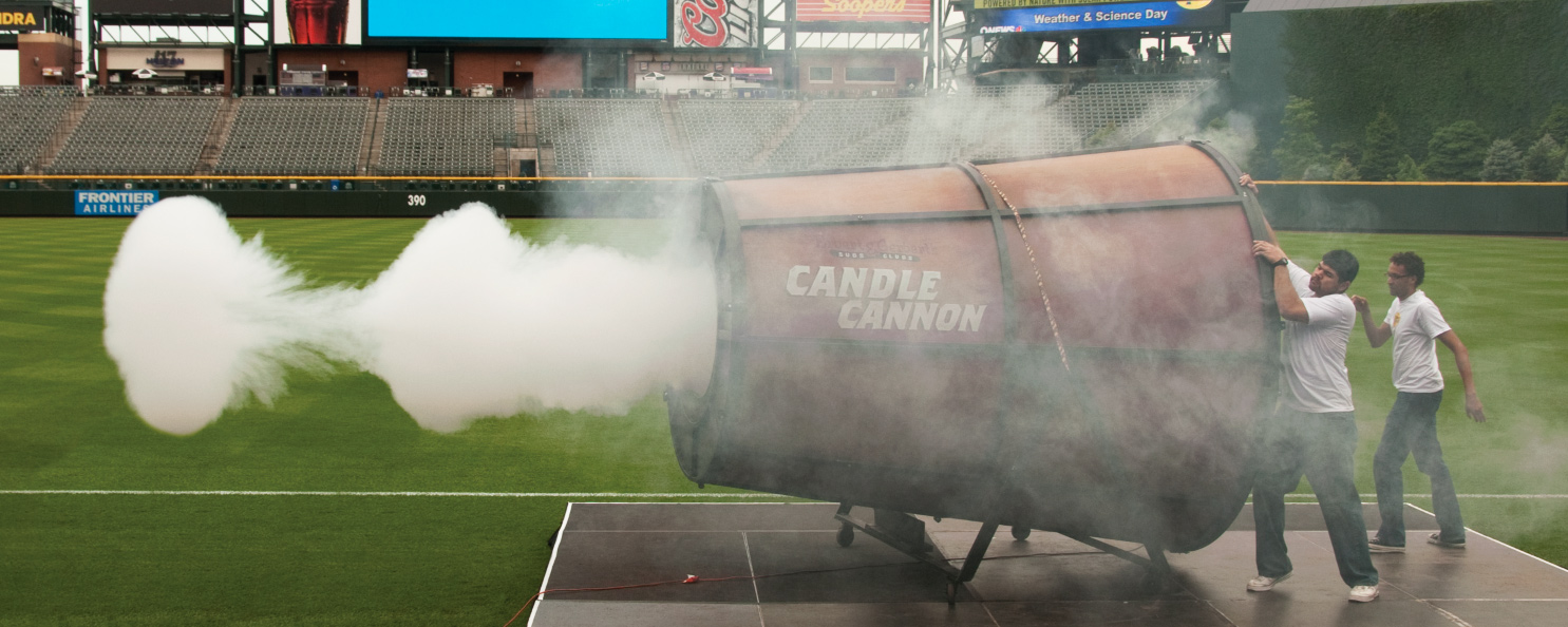 Stage Cannon Smoke Rings