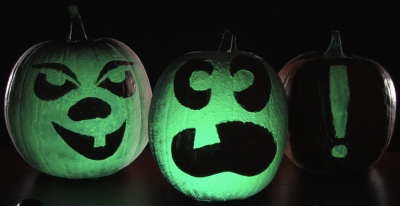 Decorating pumpkins - glow in the dark jack-o-lanterns | Steve Spangler Science