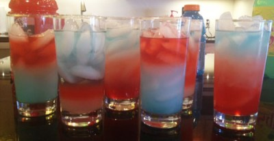 Density Drinks - Layered Kid-Friendly Drinks for 4th of July