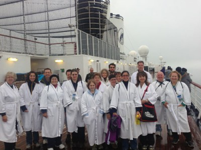 Some of our guests for Science at Sea 2013