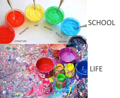 School vs Life - Mix Up the Subjects | Integrating Science into Common Core Lessons