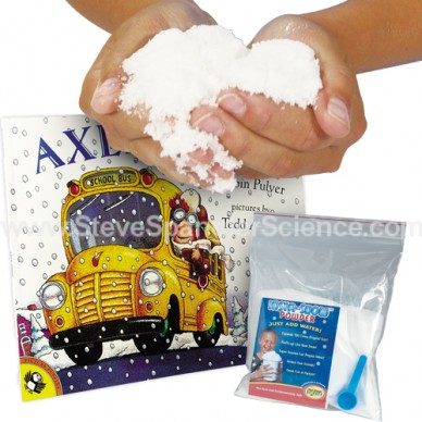 Axle Annie and Insta-Snow | Squeezing Science into the Classroom | Steve Spangler Science
