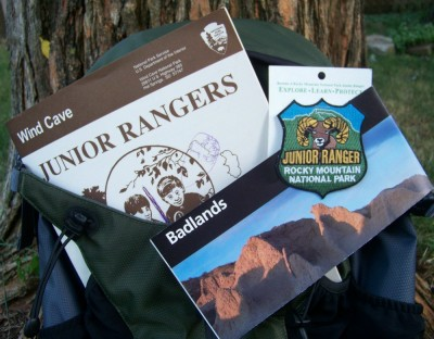 Junior Ranger Programs for science-based badges in National Parks