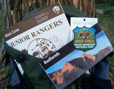 Junior Ranger Programs for science-based badges in National Parks