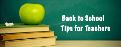 Back to School Tips for Teachers to Welcome them Back to the Classroom from Teachers and Steve Spangler Science