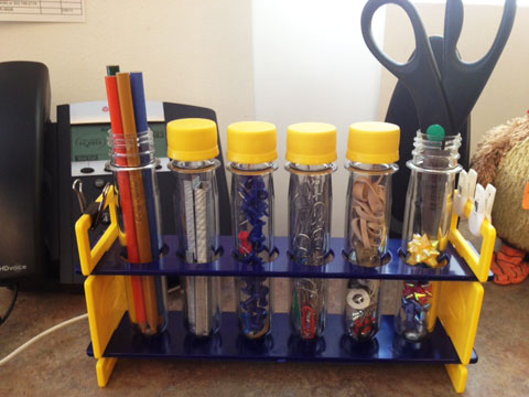 For your favorite teacher or science fan - a Test Tube desk organizer | Steve Spangler Science