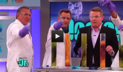 Steve Spangler Explained the science behind food poisoning using Elephant's Toothpaste on The Doctors TV