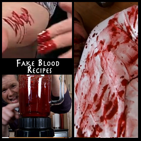 The Goriest, Tastiest, Realistic Fake Blood Recipes | Steve Spangler Science