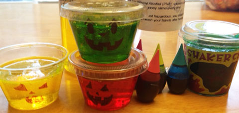 Halloween Glow in the Dark Slime Party Favors | Steve Spangler Science