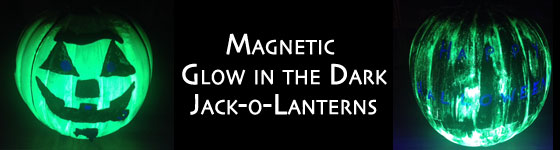 How to Make Magnetic Glow in the Dark Pumpkins for Halloween | Steve Spangler Science