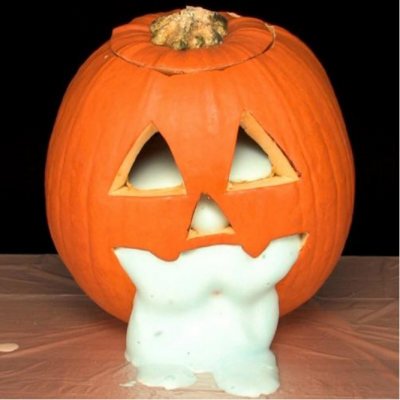 Oozing Pumpkins using Elephant's Toothpaste | Steve Spangler Science