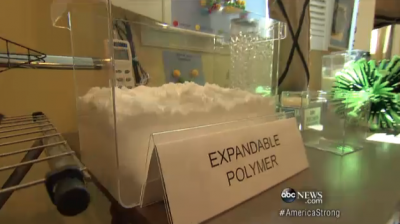11-Year-Old Invents Sandless Sandbags That Use Polymer Similar to Insta-Snow