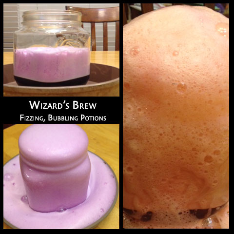 Oozing, Bubbling Halloween Wizard's Brew