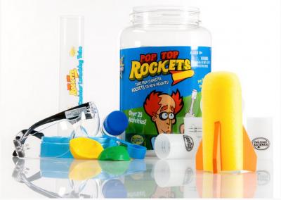 Best Science Toys for Kids | Pop Top Rockets | Steve Spangler Science