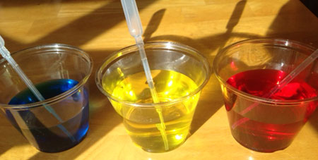 Stained Glass Color Mixing with Bubble Wrap | Steve Spangler Science
