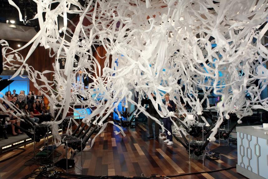 Steve Spangler Toilet Papers The Ellen DeGeneres Studio