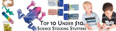 Top 10 Science Stocking Stuffers Under $10 | Steve Spangler Science