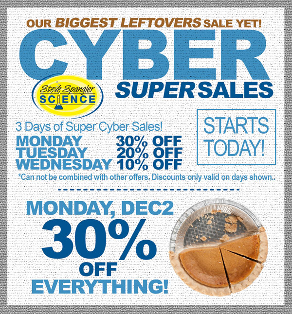 Steve Spangler Science super sales this week only. Our biggest sale ever!