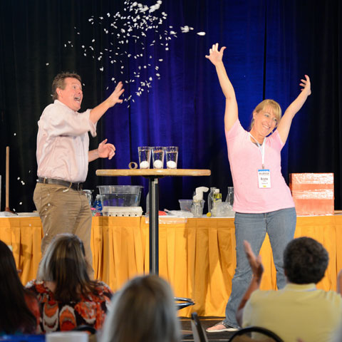Science in the Rockies teacher training with Steve Spangler