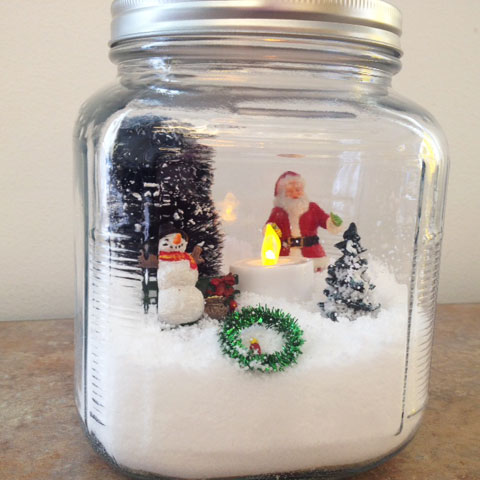Insta-Snow Globe Holiday Decoration | Steve Spangler Science