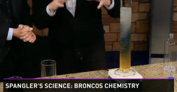 Scientific Super Bowl Predictions with Chemistry. Who will win the Super Bowl? | Steve Spangler Science