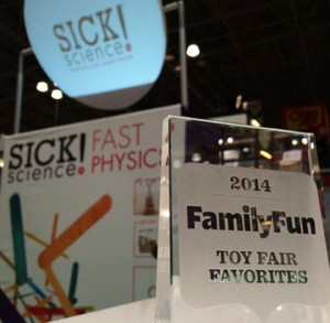 Steve Spangler Science & Be Amazing Toys New Sick Science! Kits Win FamilyFun Award at Toy Fair