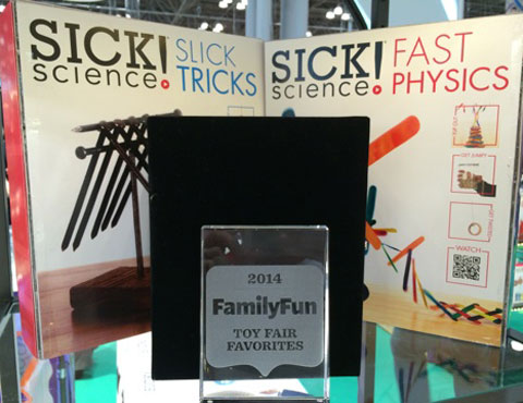 Our Sick Science Kits won the FamilyFun award and will be available later this year | Steve Spangler Science