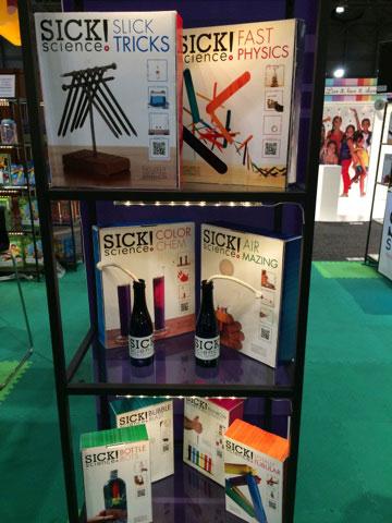 Steve Spangler Science & Be Amazing Toys New Sick Science! Kits Win FamilyFun Award at Toy Fair
