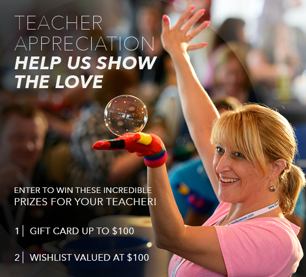 Help Us Show the Love and Win at Steve Spangler Science http://spanglersci.com/Appreciate