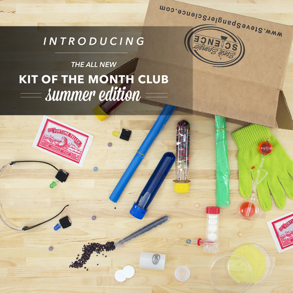 Kit of the Month Club Summer Edition from Steve Spangler Science