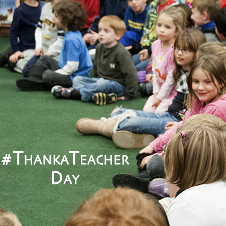 #ThankaTeacher Day - Teacher Appreciation. Share your story with us - Steve Spangler Science