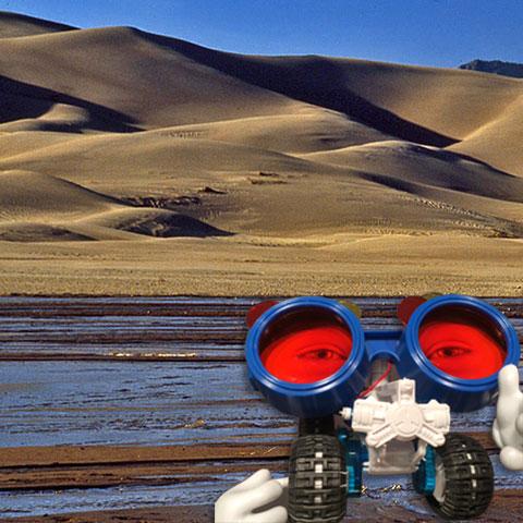 Saltwater Truck visits the Sand Dunes - Steve Spangler Science Selfies
