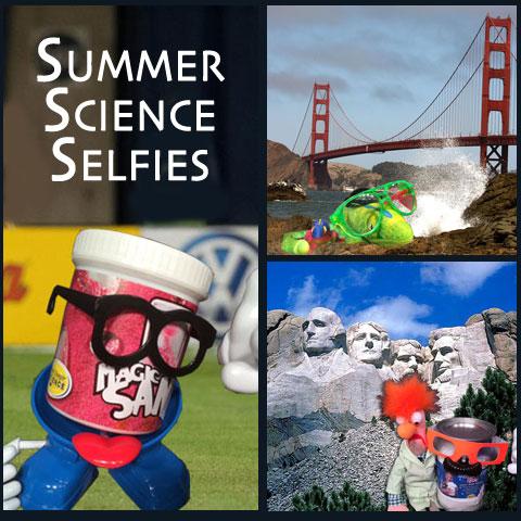 Summer Science Selfies - Science Kits from Steve Spangler Science