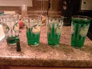 glass harmonica, water experiment 2