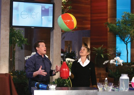 Steve-Spangler-Ellen-Degeneres-Floating-Beachball-hires