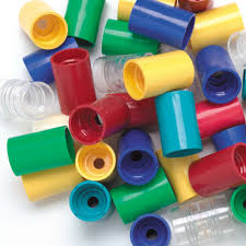 Tornado tubes:  all different colors to create a vortex in a bottle!