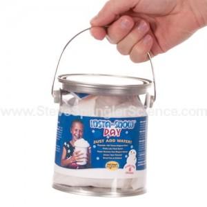 bucket of Insta-Snoq