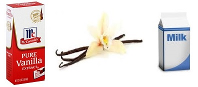 See that orchid?  That's where vanilla comes from. It smells wonderful, doesn't it; almost like a. . . . flower.