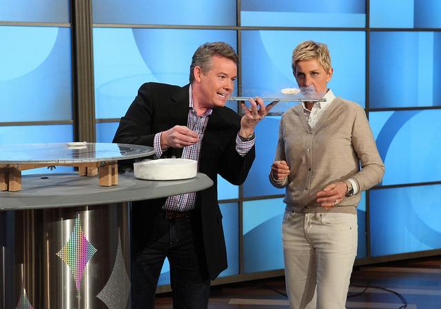 Steve Spangler on The Ellen DeGeneres Show