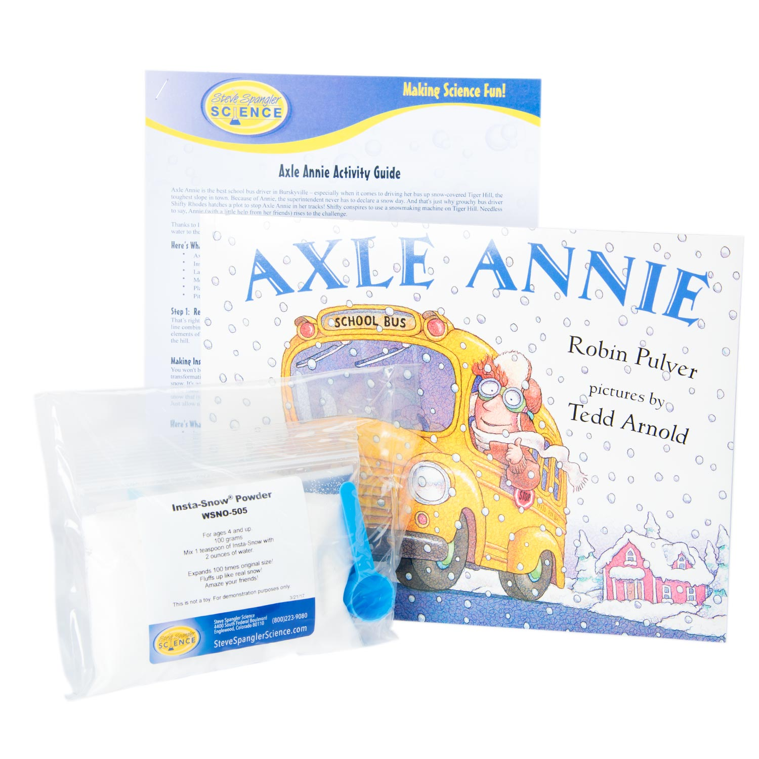 Axle Annie Instant Snow Kit