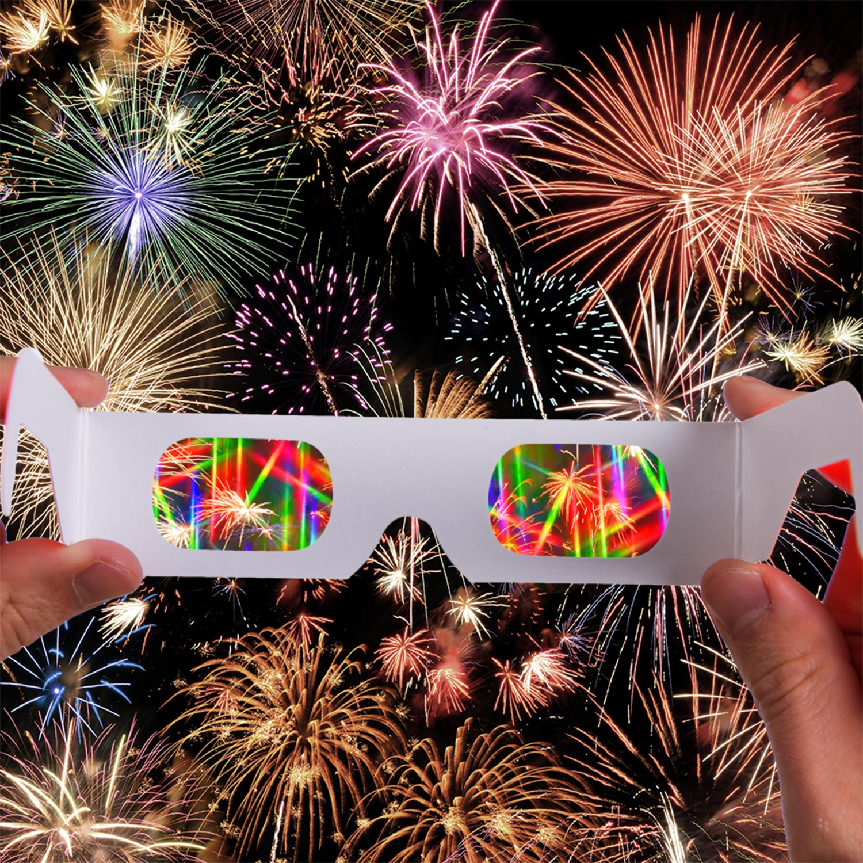 Fireworks Rainbow Glasses - 15 Pack