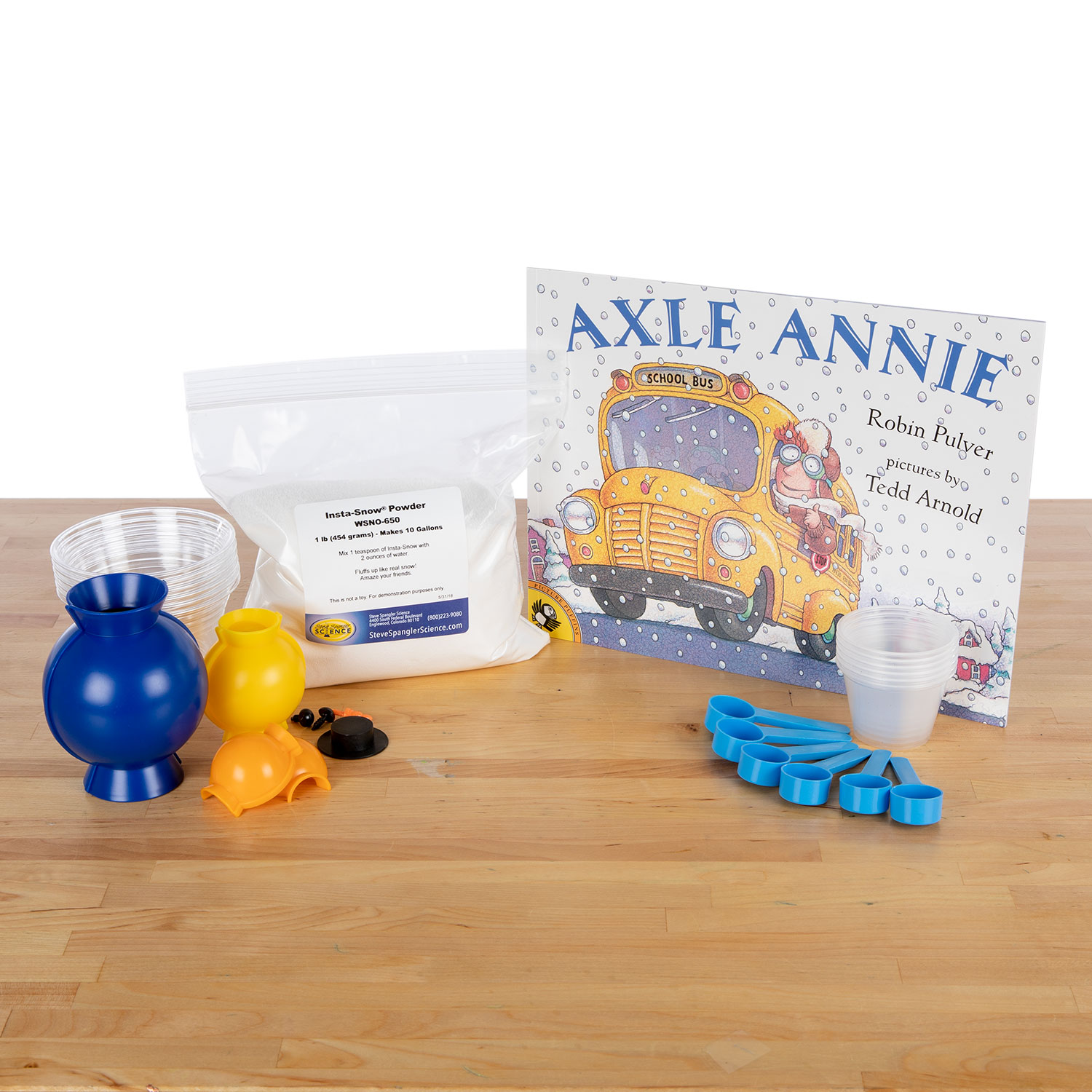 Storytime Science – Axle Annie